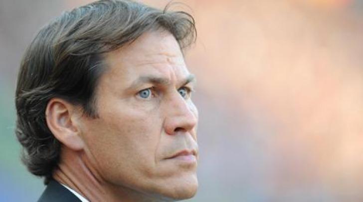 L'allenatore della Roma Rudi Garcia