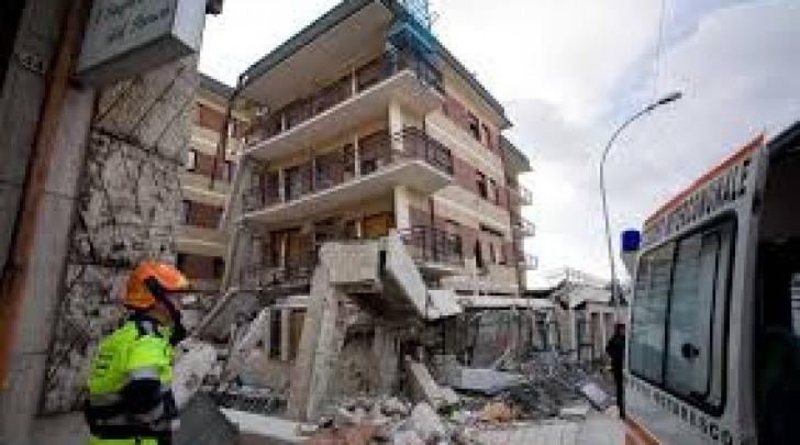 La Casa dello Studente dopo il crollo del 6 aprile 2009