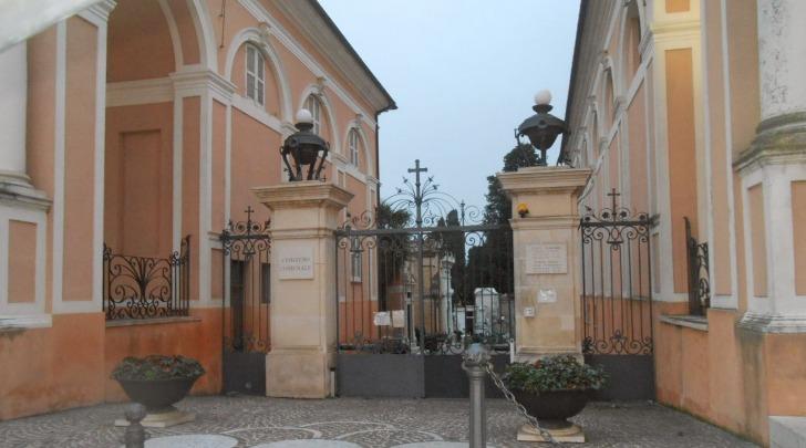 L'ingresso del cimitero di Chieti