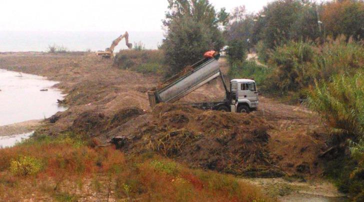 lavori fiume tordino