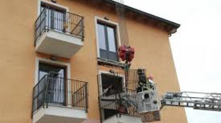 crollo balcone -rimozione