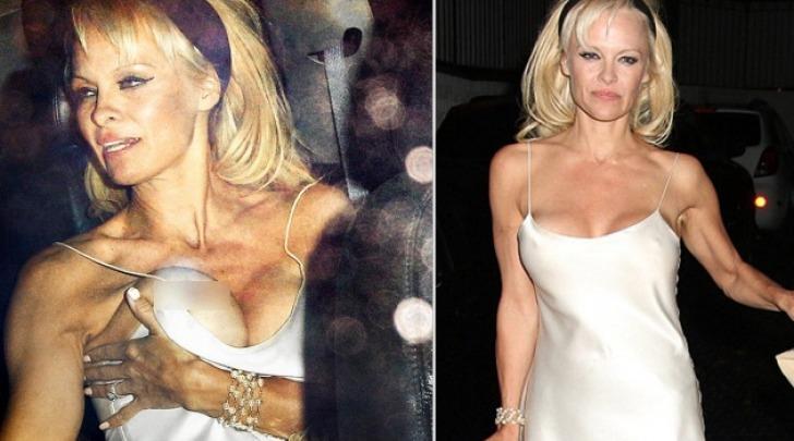 Pamela Anderson Fuori di Seno