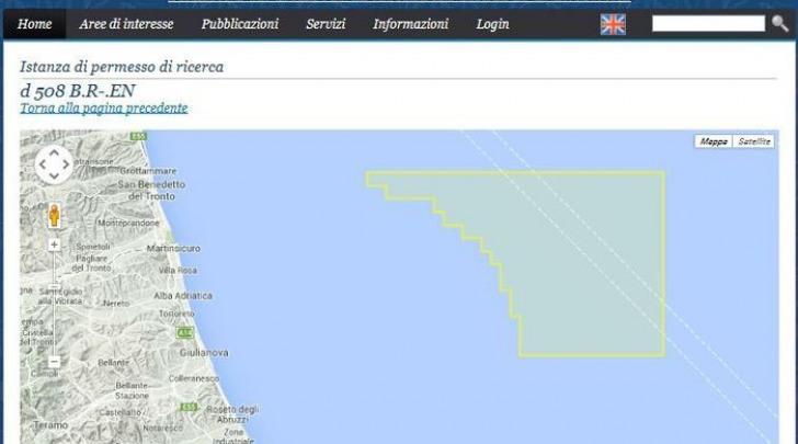 mappa ricerca-foto da Ansa