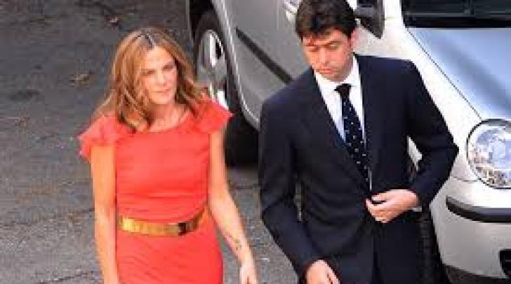 Emma Winter col marito Andrea Agnelli
