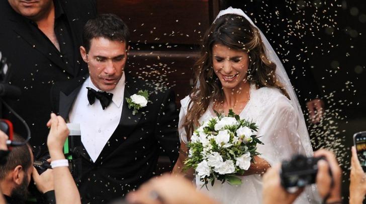 Elisabetta Canalis e Brian Perri matrimonio