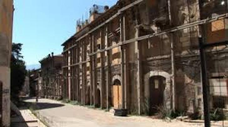 Edifici inagibili a L'Aquila
