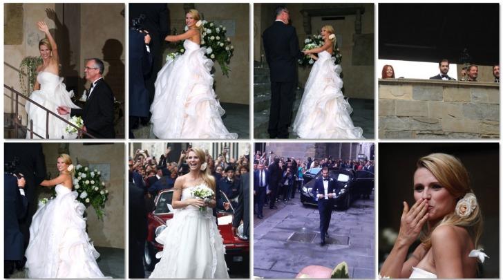 Michelle Hunziker Abito da Sposa