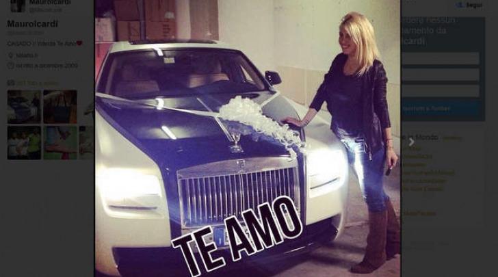 Wanda Nara Rolls Royce