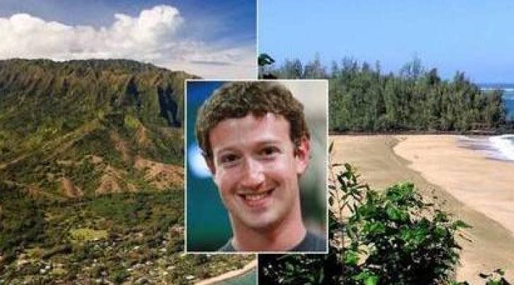 Mark Zuckerberg Kauai Hawaii