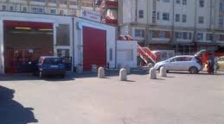 Il pronto soccorso dell'ospedale di Avezzano