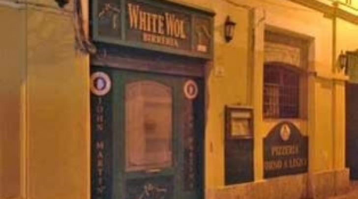 """Il pub """"White Wolf"""" di Teramo"""