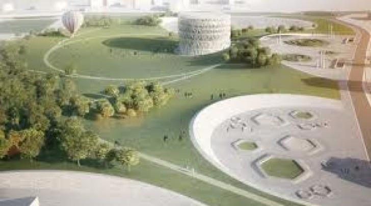 Progetto del parco urbano in piazza d'Armi