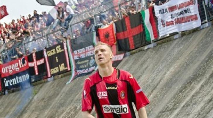 Gaetano Vastola, suo il gol dell'1-0