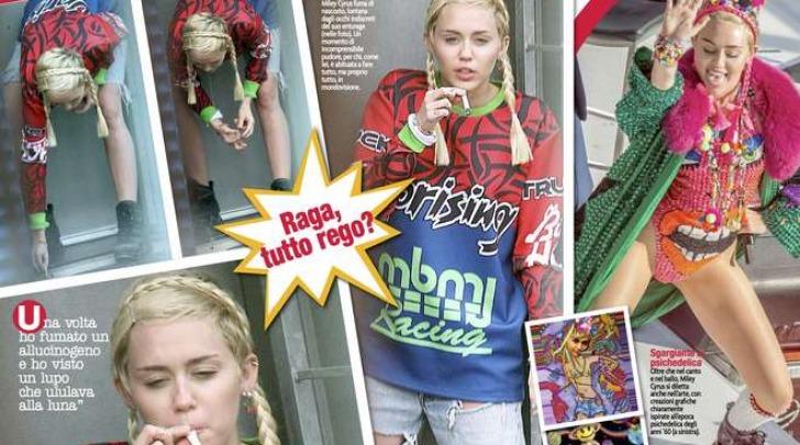 "Miley Cyrus ""Canna Montana"""