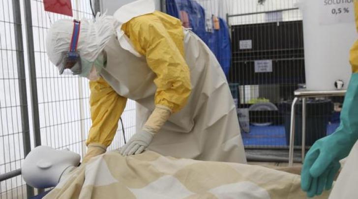 esercitazione anti ebola