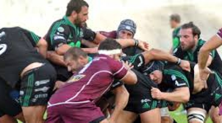 rugby l'aquila -fiamme oro roma