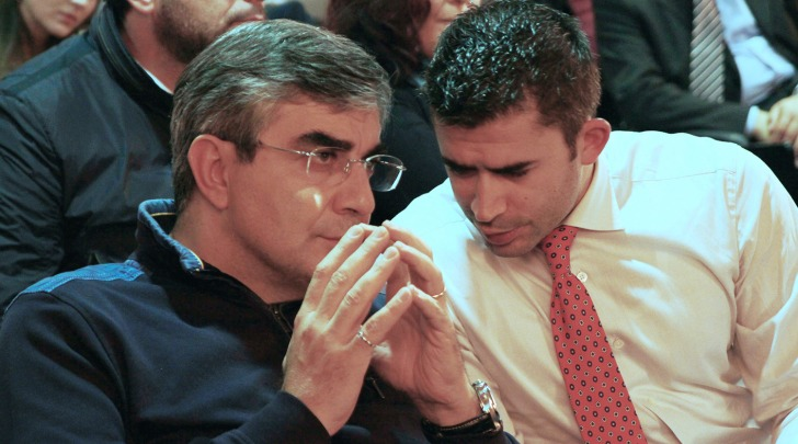 Luciano D'Alfonso e Silvio Paolucci