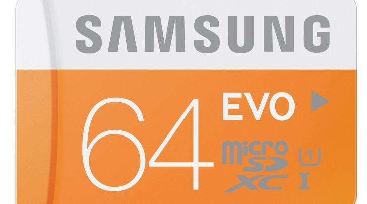 Samsung MB-MP64D/EU Scheda Micro SD XC EVO, UHS-1, Classe 10, 64GB