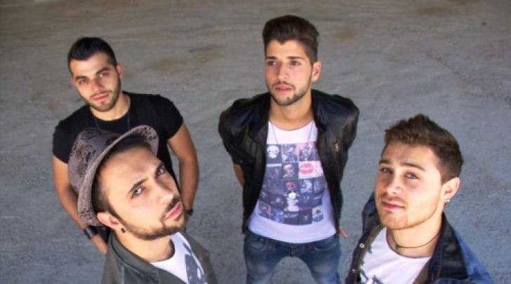 I quattro componenti della band Metrò