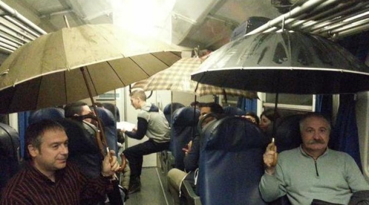 Pioggia Sulla Linea Aulla-Pisa