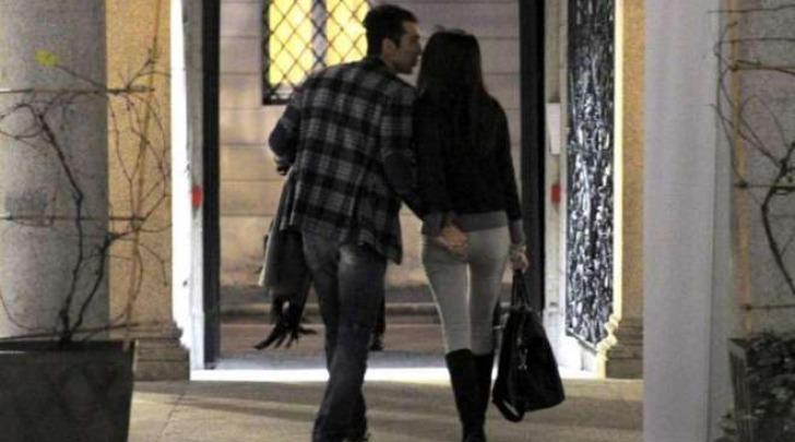 Gigi Buffon e Ilaria D'Amico in vacanza insieme (Olycom)