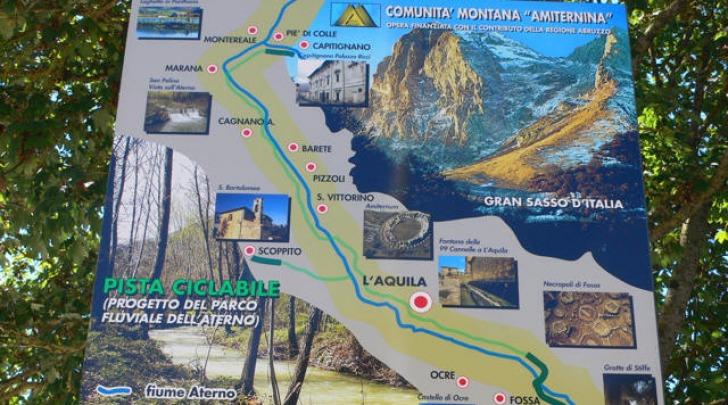 Pista ciclopedonale Valle Aterno