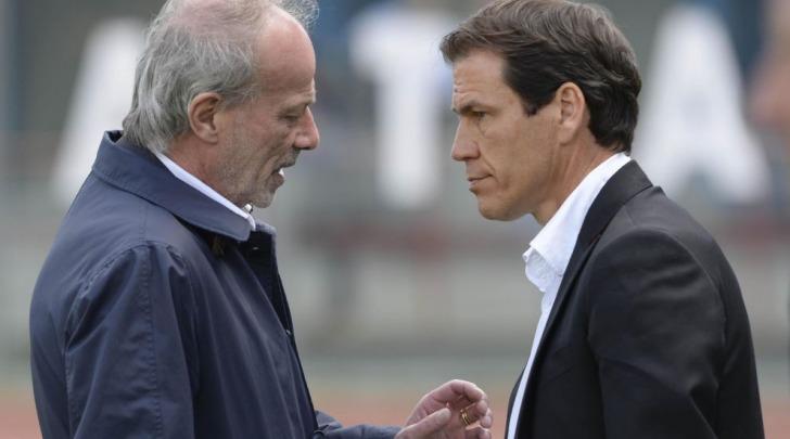 Rudi Garcia e Walter Sabatini
