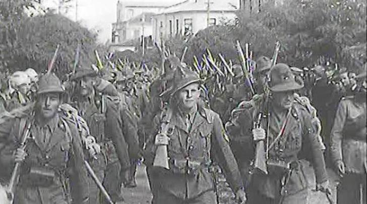 Battaglione alpini in Grecia