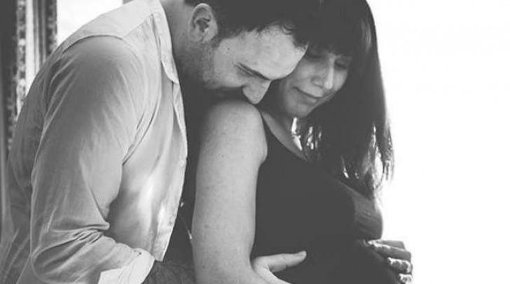 Tania Laura Egitto con il marito incinta di Nicole