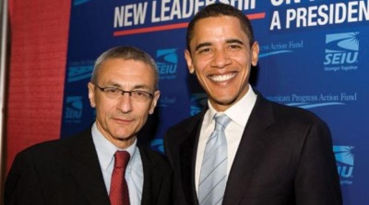 John Podesta e Barack Obama