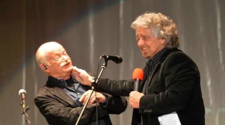 Gino Paoli Beppe Grillo