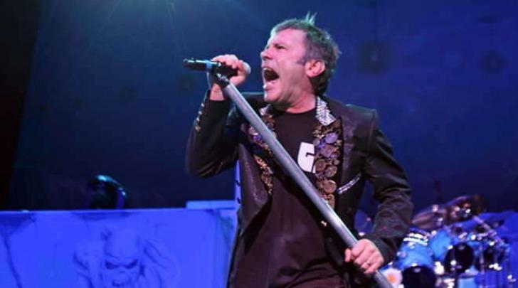 Bruce Dickinson, il leader degli Iron Maiden