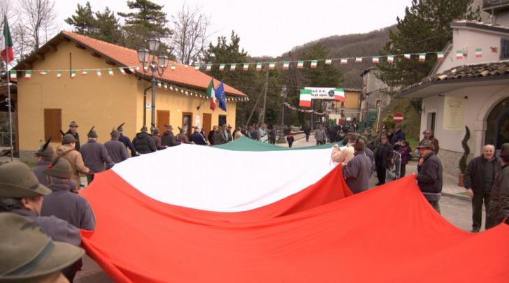Il raduno degli Alpini ad Isola del Gran Sasso