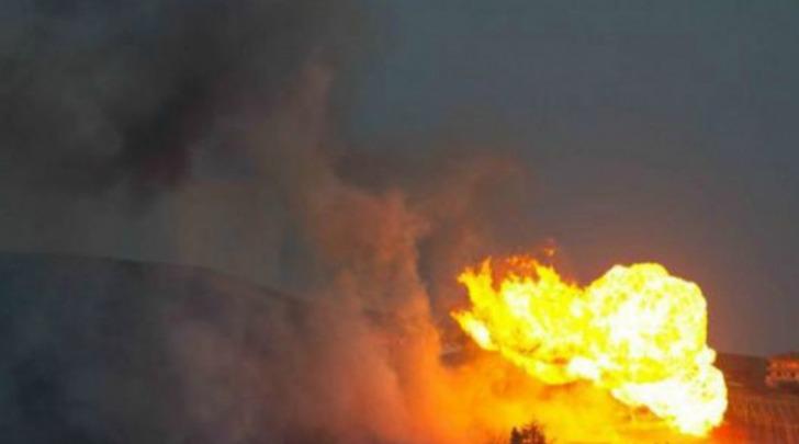 Esplosione e successivo incendio della condotta di Mutignano