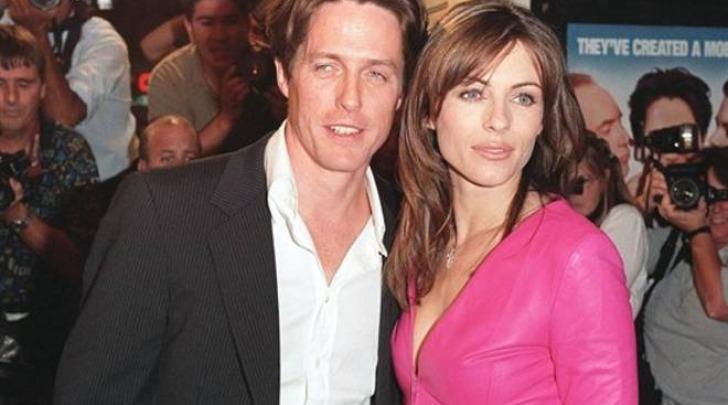 Hugh Grant e la ex Liz Hurley