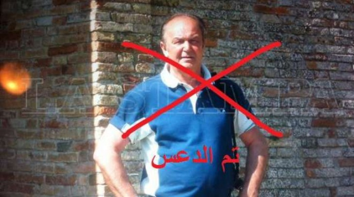 Tunisi, l'Isis mostra la vittima italiana (Twitter)