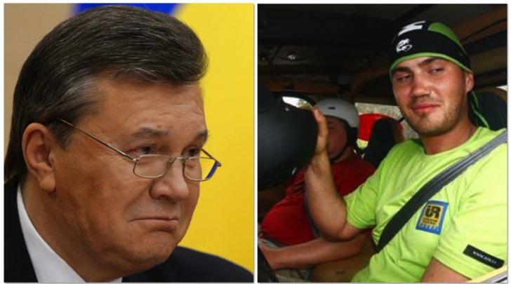 Viktor Yanukovich e figlio