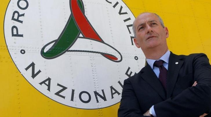 Il capo della Protezione civile, Franco Gabrielli