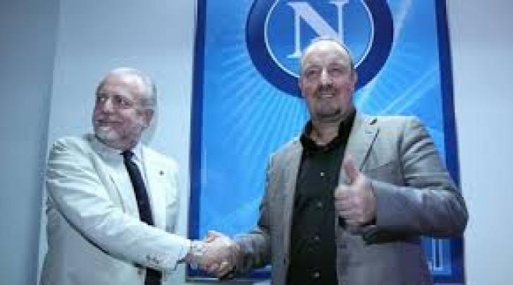 Aurelio De Laurentiis e Rafa Benitez