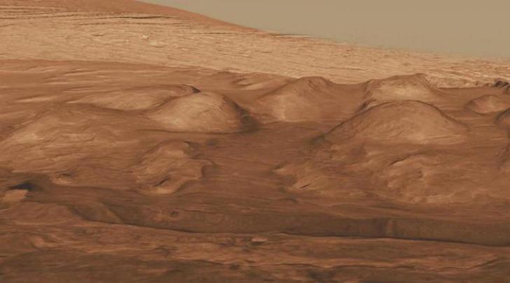 vulcanetti di fango su Marte