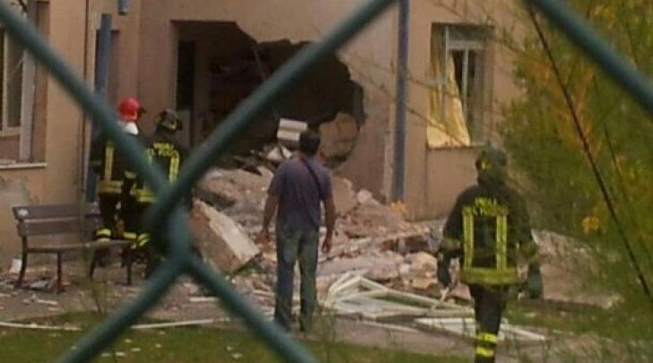 Esplosione asilo Teramo
