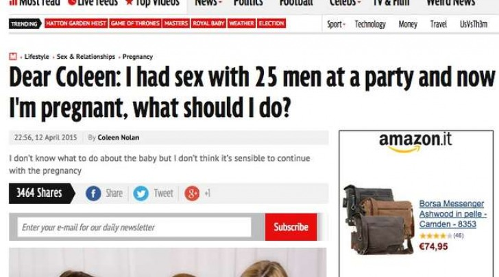 Fa sesso con 25 uomini al party (Mirror)