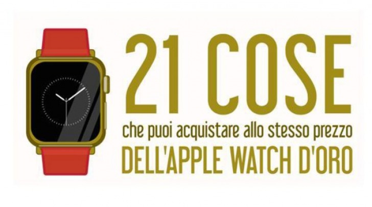 Apple Watch Edition in Oro