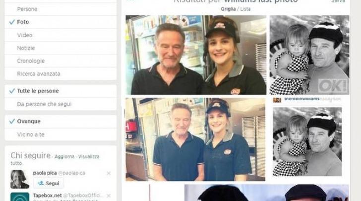 Robin Williams, le ultime foto