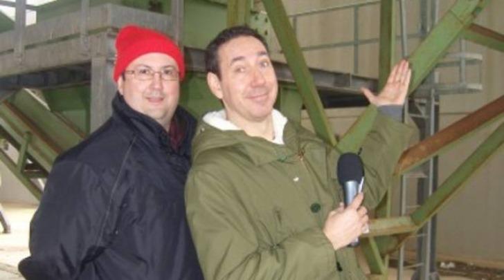 Fabio e Mingo di Striscia la notizia