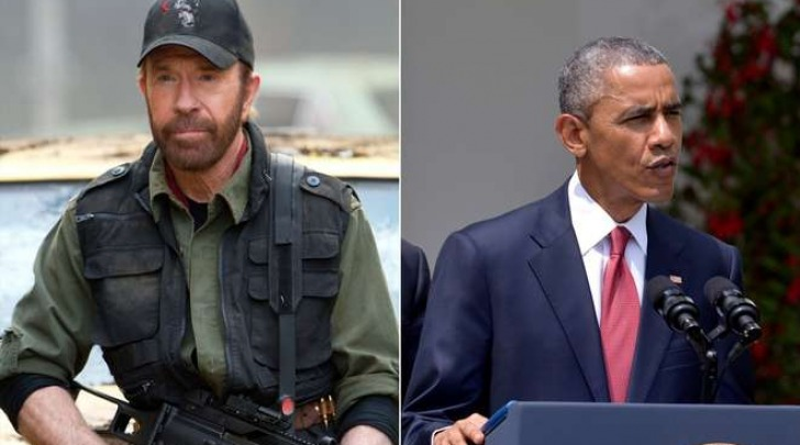 Chuck Norris difende il Texas contro Washington