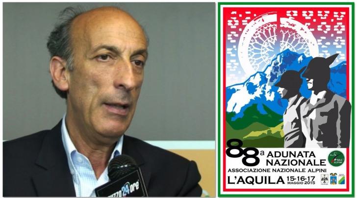 Agostino Del Re - 88° Adunata degli Alpini, L'Aquila 2015