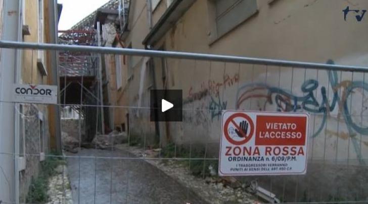 recinzione zona rossa