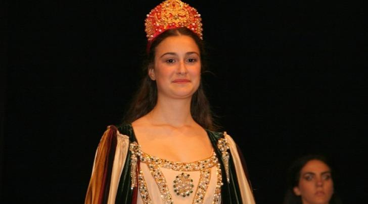 """Alessia Pipino, vincitrice del concorso """"La dama per la Giostra"""""""