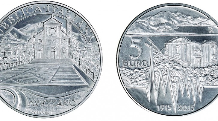 Moneta per sisma marsica